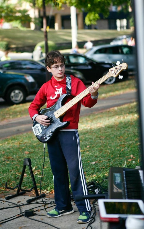 bass guitar lessons pelham al
